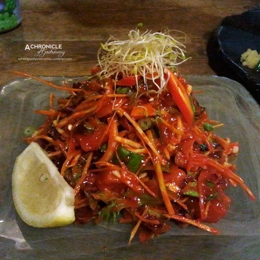 Chilli Salmon w. Vegetables ($19)