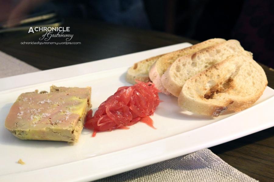 Foie Gras w. Grenadine Onions