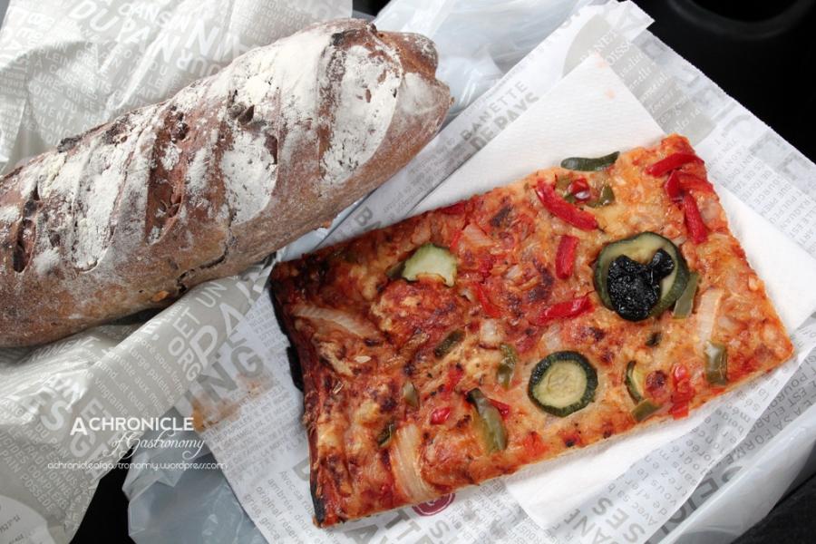 Veggie Pizza, 'Mediéval' Bread