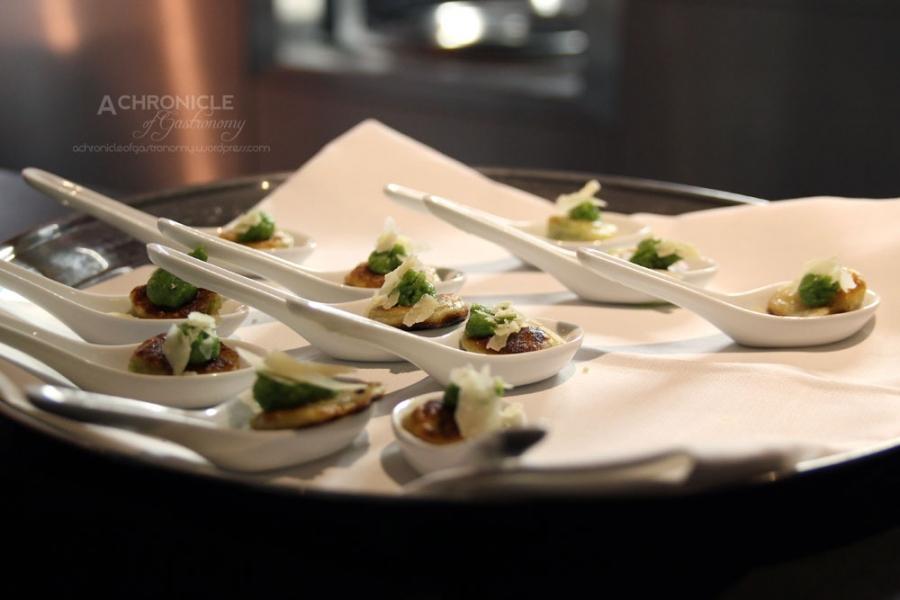 Mezzelue ai Broccoli e Parmigiano - Broccoli-filled Potato Parcels, Bagna Cauda Butter, Parmigiano Reggiano
