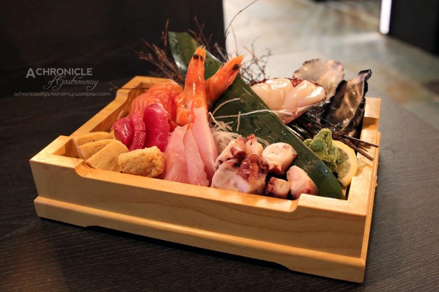 Today's Assorted Sashimi