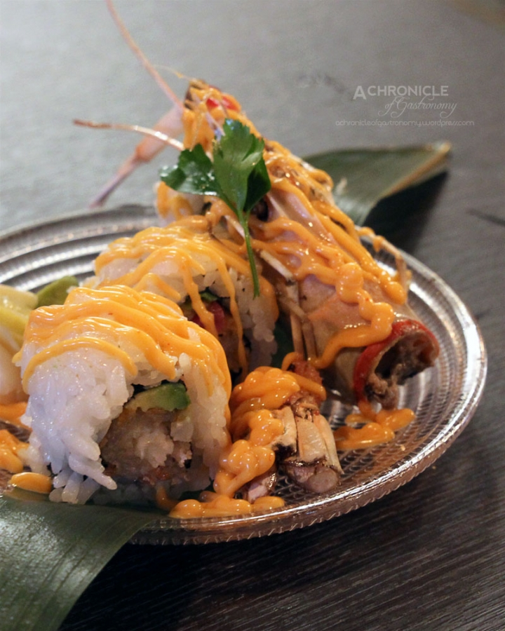 Fried Scampi Roll