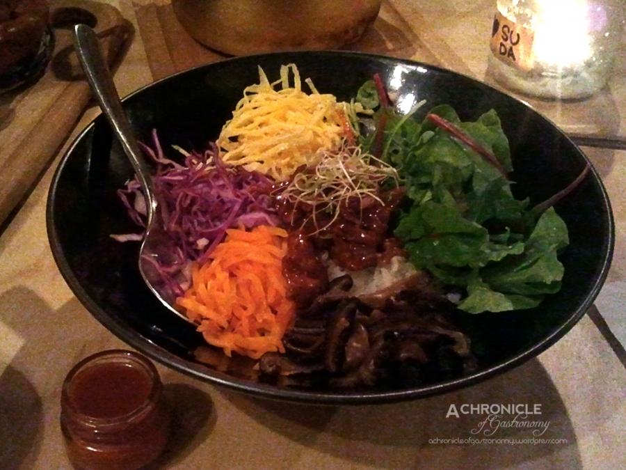 Bibimbap - w. Vegetables, Chili Paste, Egg, Bulgogi