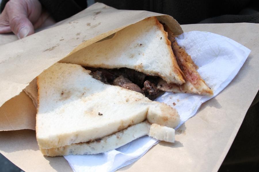 Venison Sandwich ($6)