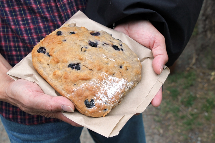 Gretchen's Kitchen - Blueberry Scone ($4)