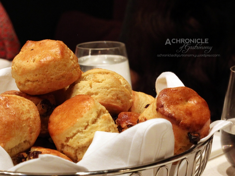 Traditional Raisin And Butter-Milk Scones, Homemade Jam And Whipped Cream