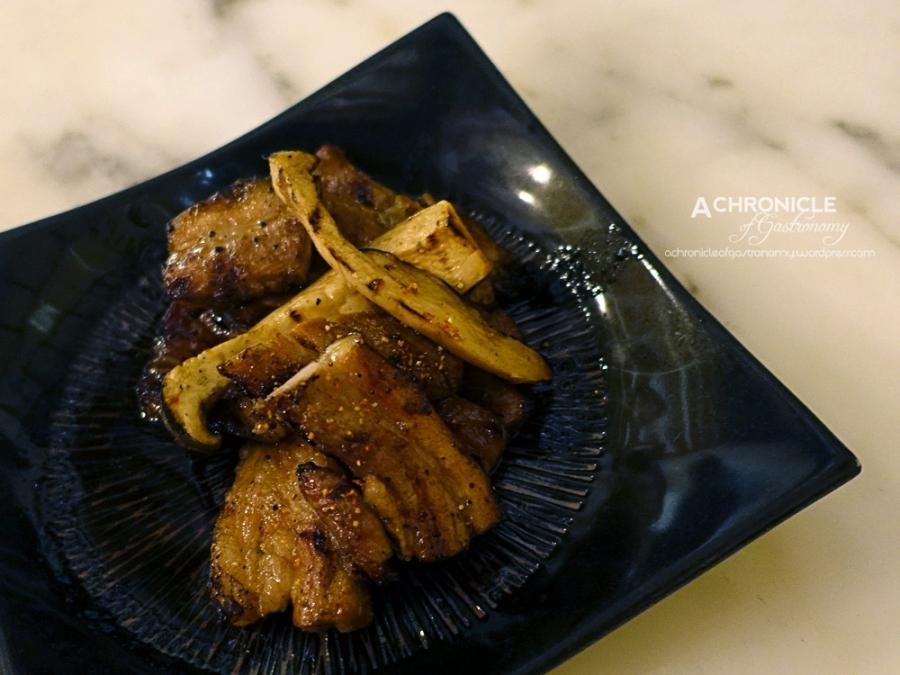 Buta Kakuni - Pork Belly Braised In A Spice-Laden Soy Sauce With Japanese Mustard $17