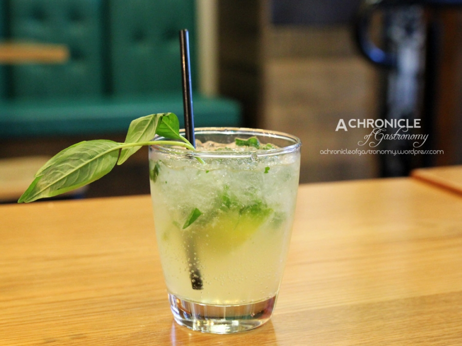Mekong Breeze - Mint, Coriander, Lime, Ginger, Ice, Rum