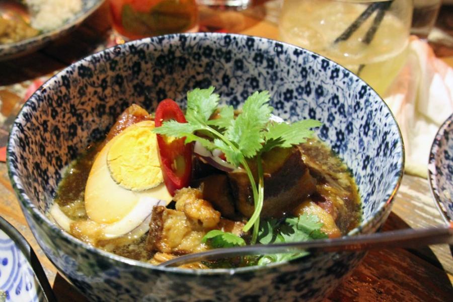 Thit Kho - Caramelised Pork Belly and Boiled Free-range Egg Braised in Coconut Juice