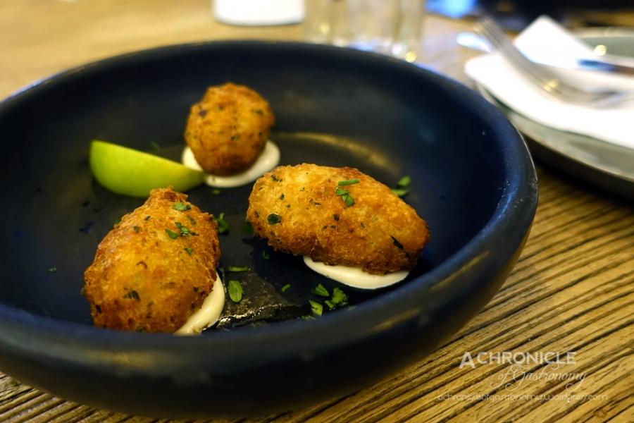 Bolinhos de Bacalhau - Fried Cod and Potato Croquettes, Aioli $10