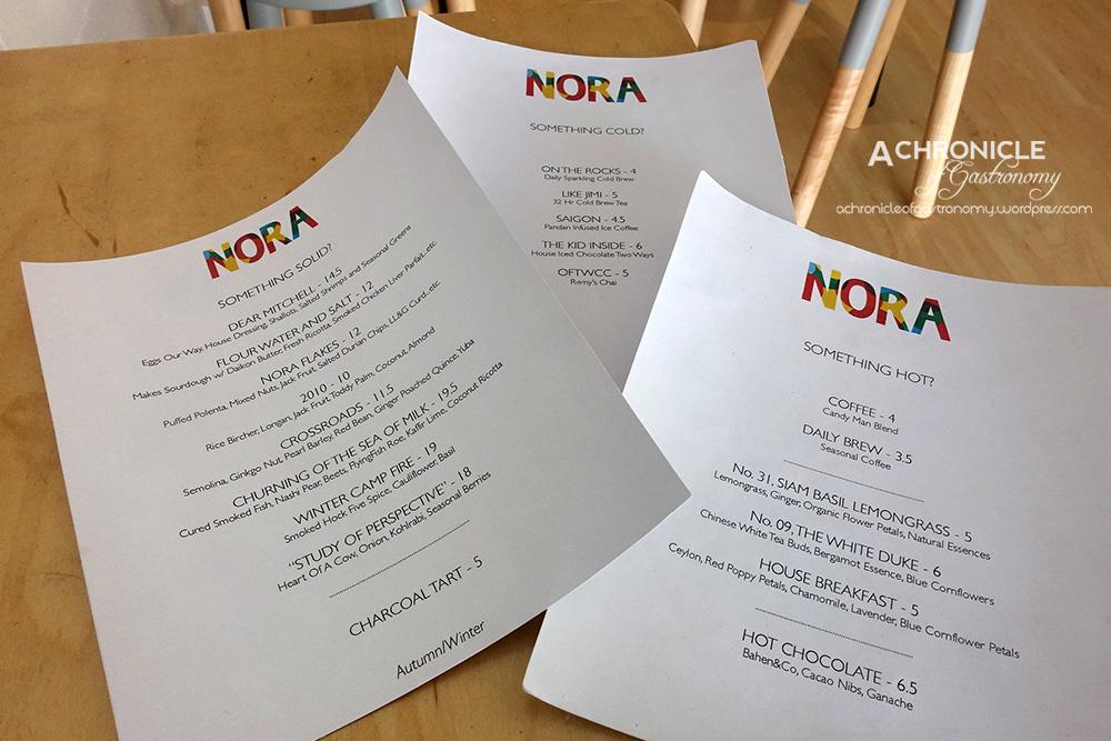 Nora (2) Menu