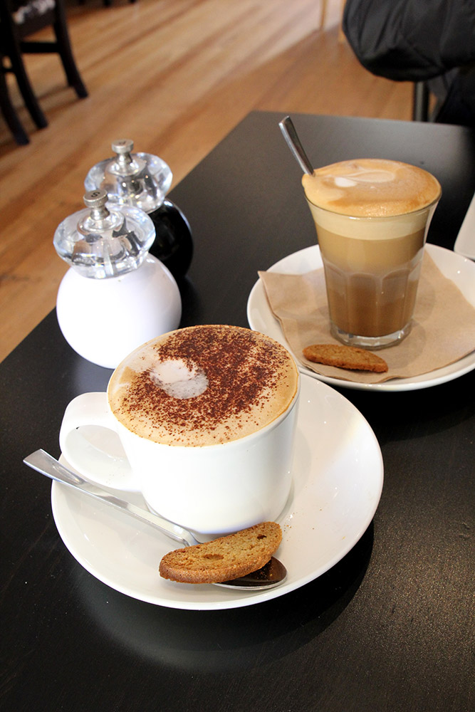 Nourished:385 (13) Decaf Cappuccino and Latte