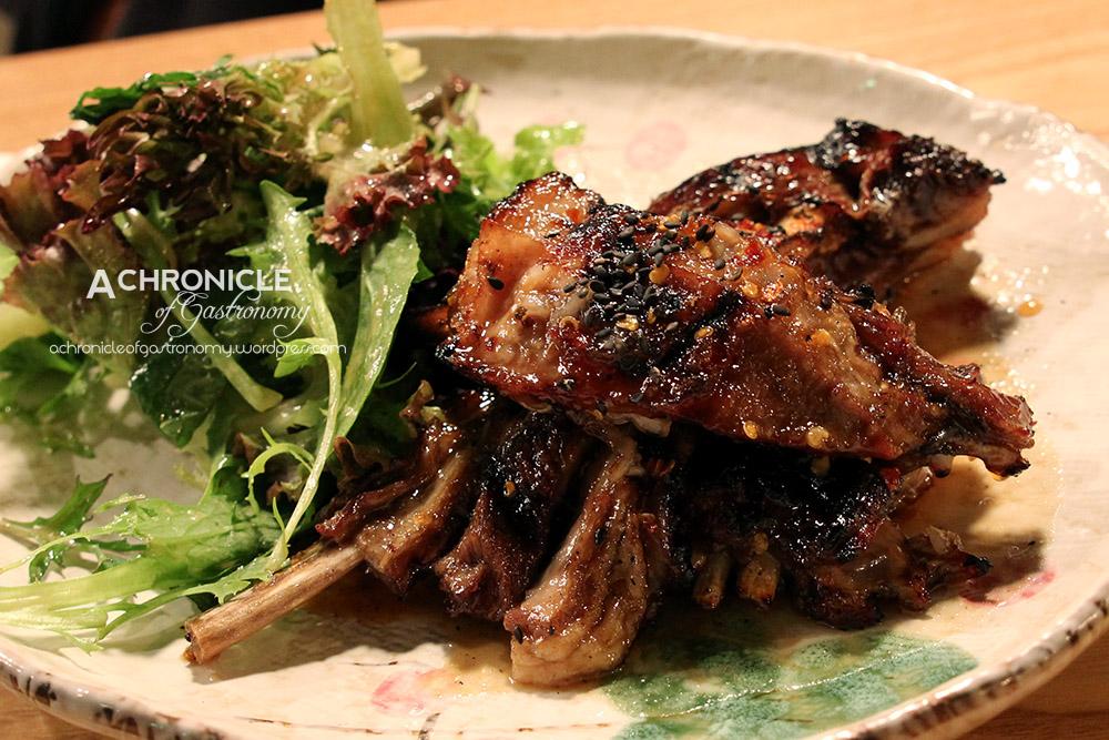 Bistro K (16) Grilled Lamb Ribs And Asian Apple Mint Salad ($18)edit
