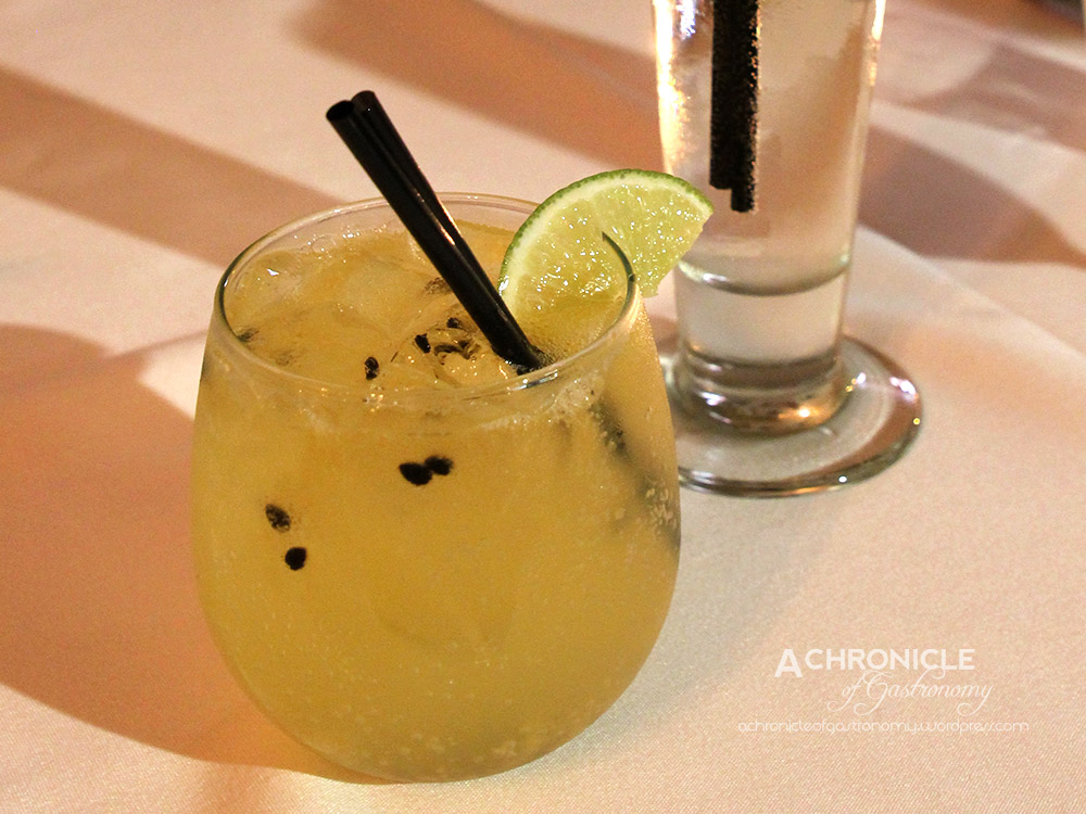 Passionfruit Caprioska and Green Apple Mojito Cocktail