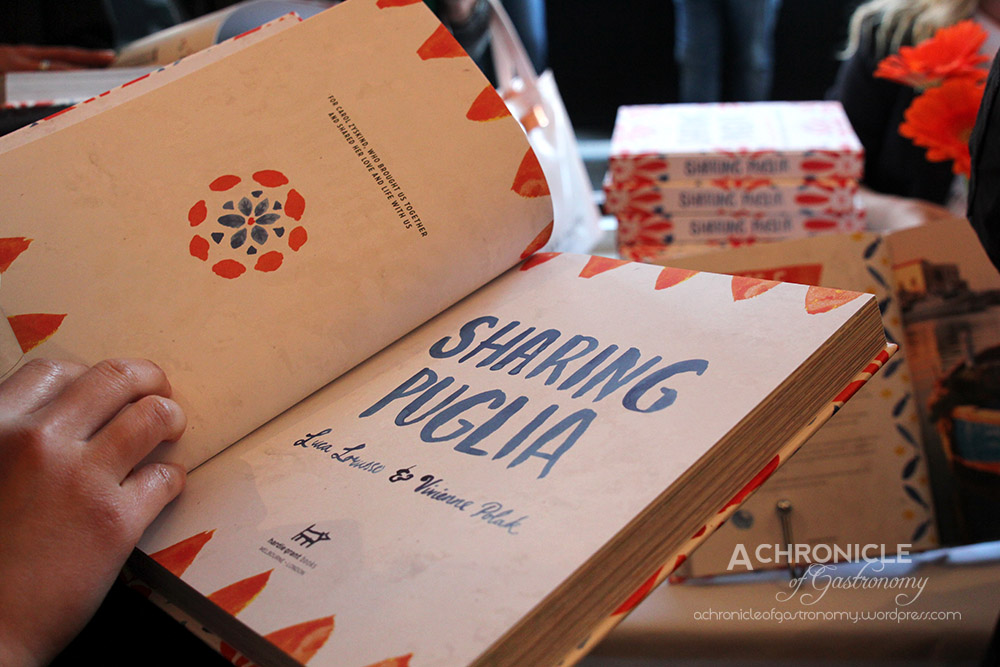 'Sharing Puglia' Book Launch (4)