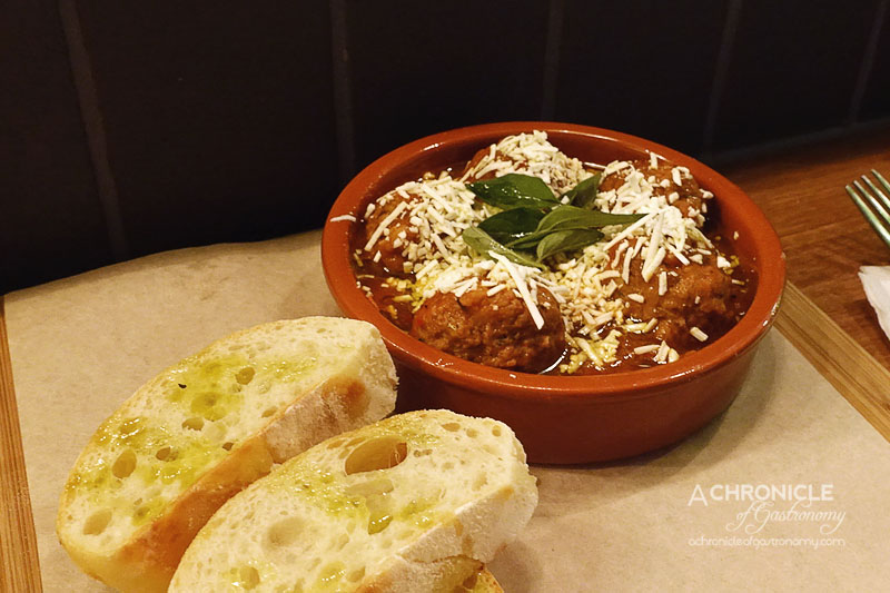 Pork and Beef Meatballs ($15)