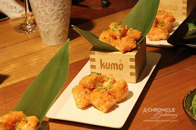 Kumo Izakaya and Sake Bar - Crushed Prawn Katsu with Creamy Spicy Mayonnaise