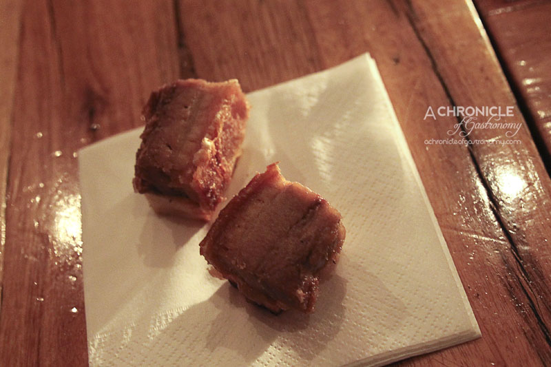 Lounge Kitchen - Pork Belly with Anise and Apple Jam on Potato