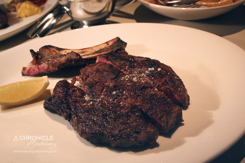 Rockpool Bar & Grill - Cape Grim Dry Aged 36 Month Old Grass Fed Rib-Eye On The Bone 350g 60 Days ($60)