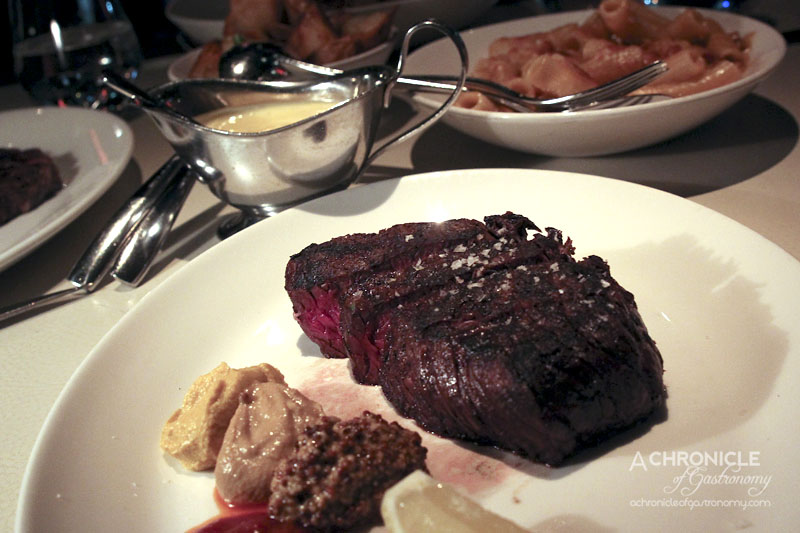 Rockpool Bar & Grill - David Blackmore Full Blood Wagyu (9+ Marble Score) Topside 240g 24 Days ($49)