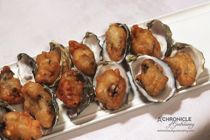 Rubira's Oyster Night - Beer-battered Oysters