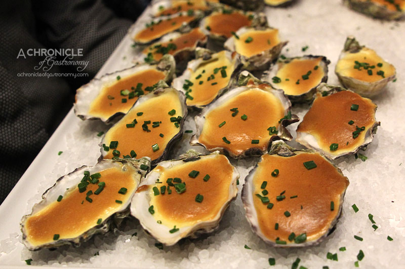 Rubira's Oyster Night - Champagne Oysters