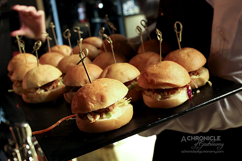 Waterslide Bar Launch - Pulled Pork Sliders