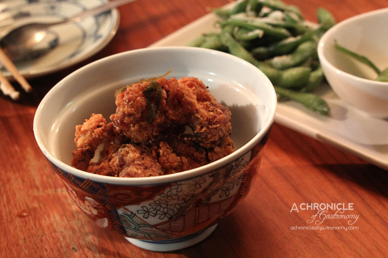 Horse Bazaar - Half Serve Japanese Fried Chicken with Japanese Sauce ($5)