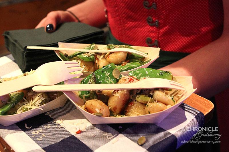 Munich Brauhaus 1st Birthday Boat Party - Vegetarian Gnocchi