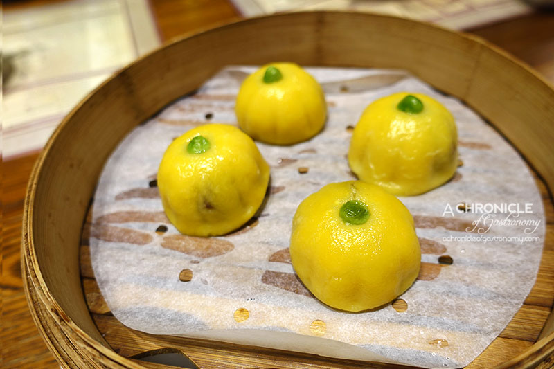 New Shanghai - Pumpkin Rice Cakes with Red Bean Paste (4 for $10.50)