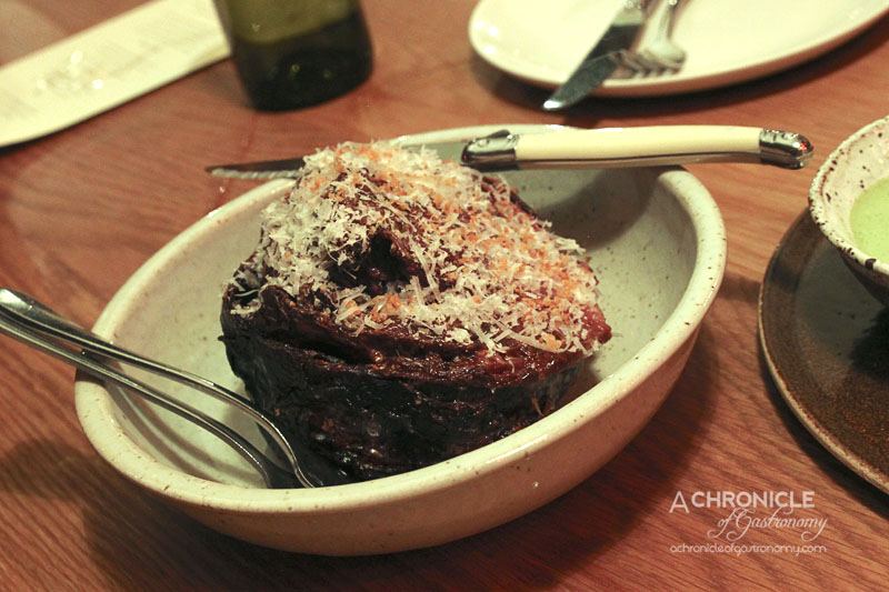 The Town Mouse - Slow Roast Red Cabbage, Prune, Parmesan & Red Apple ($15)