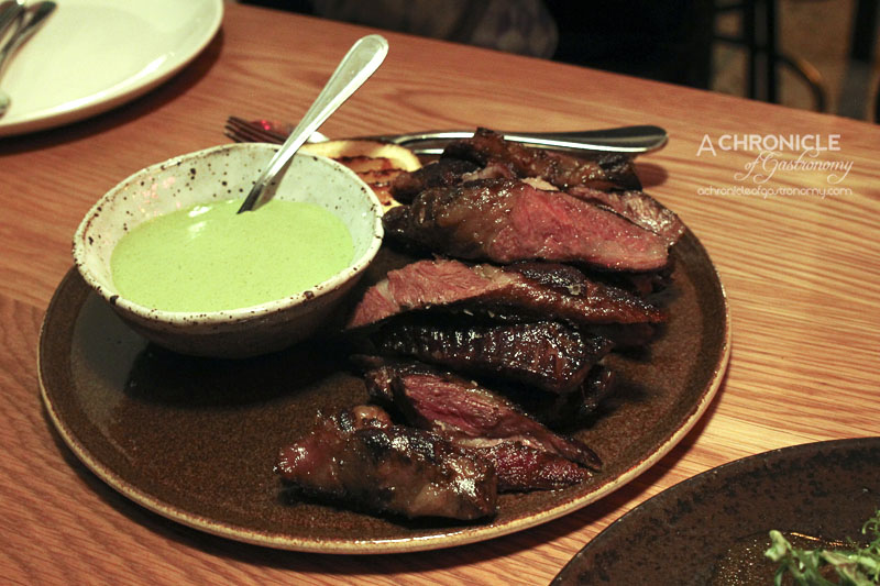 The Town Mouse - Black Angus Intercostals (500g), Watercress & Green Chilli ($40)