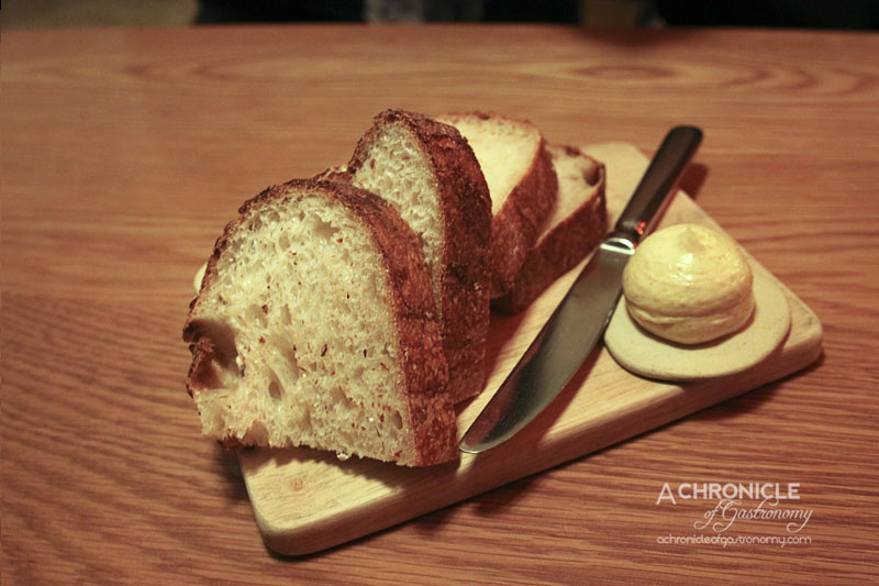 The Town Mouse - Bread with Sesame Butter