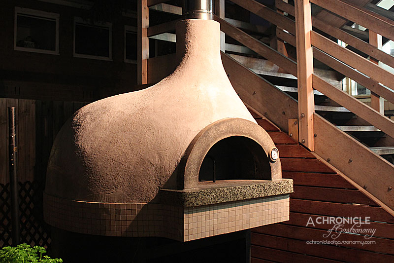 Woodland House - Wood-fired Oven