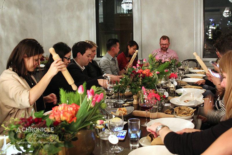 Zomato Meetup @ Grand Hotel Richmond (130) Cone Bay Barramundi Cooked in Terracotta