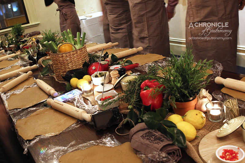Zomato Meetup @ Grand Hotel Richmond (17) Making our Cone Bay Barramundi Cooked in Terracotta