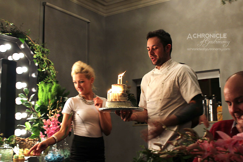 Zomato Meetup @ Grand Hotel Richmond (176) Birthday Cake