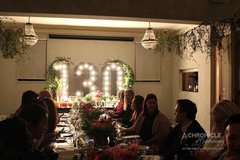 Grand hotel 130th birthday celebratory dinner a for The food bar zomato