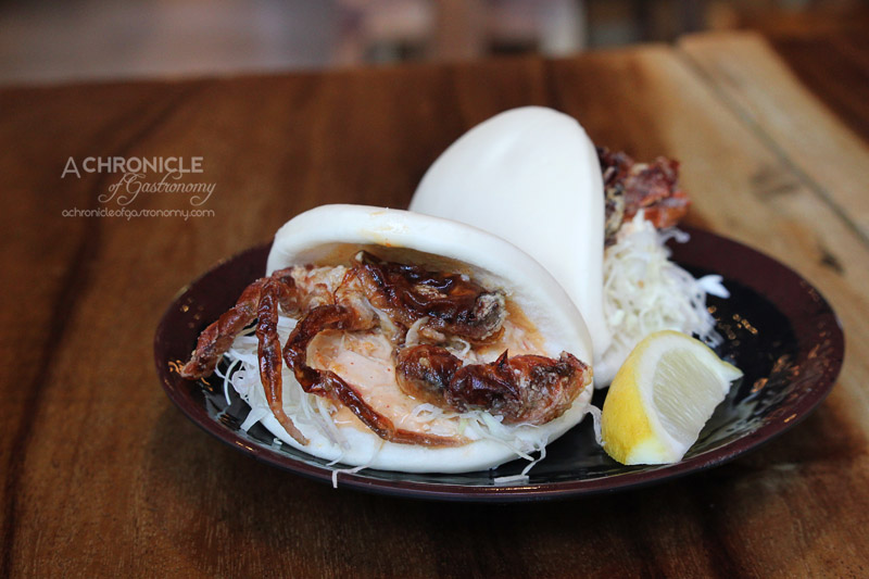 Fukuryu Ramen - Soft Shell Crab Mini Buns (2 for $11.90)