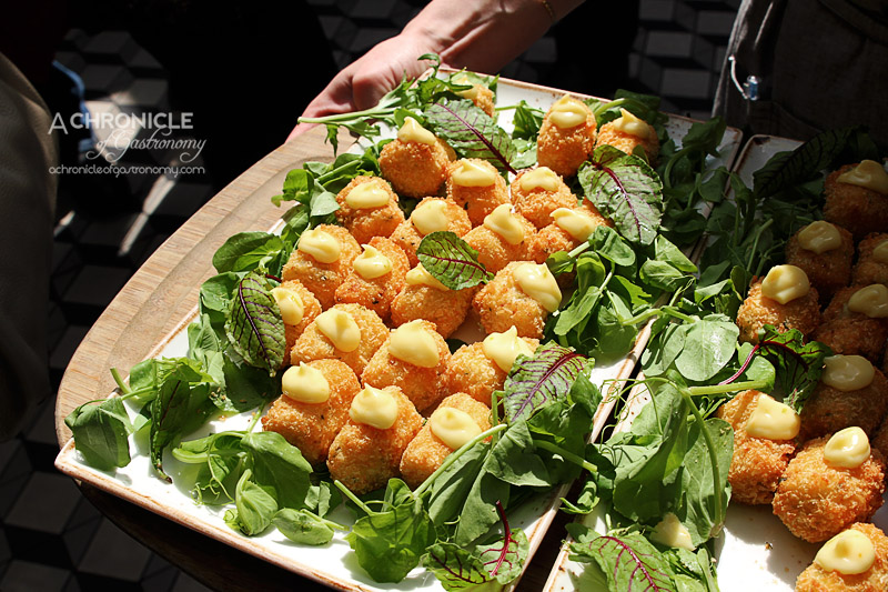 Cloudy Bay Sauvignon Blanc Spring Launch 2015 at The Botanical - Croquette