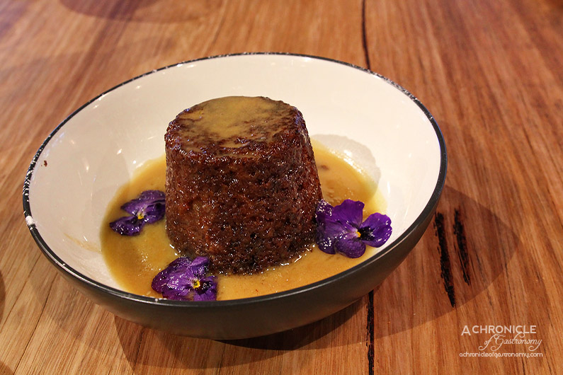 Caffe La Via - Homemade Sticky Date Pudding with Butterscotch Sauce and Ice Cream ($11)