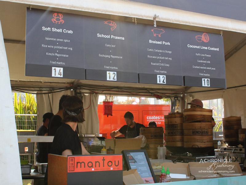 Night Noodle Markets, Birrarung Marr 2015 - Mantou