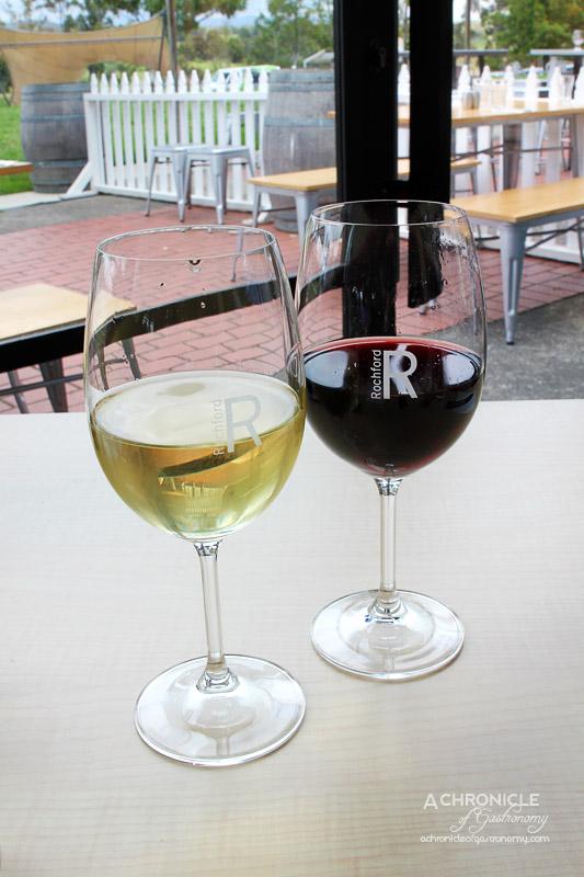 Rochford Restaurant - 2014 Estate Chardonnay, 2014 L'Enfant Unique' Pinot Noir