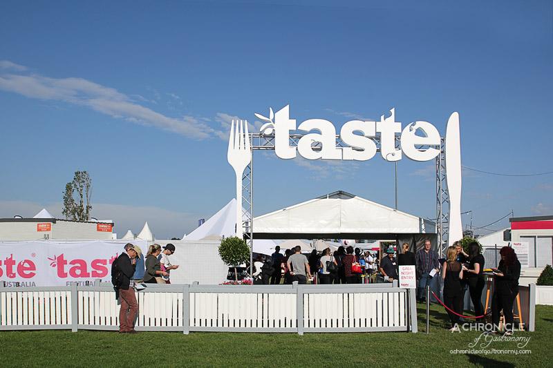 Taste of Melbourne 2015