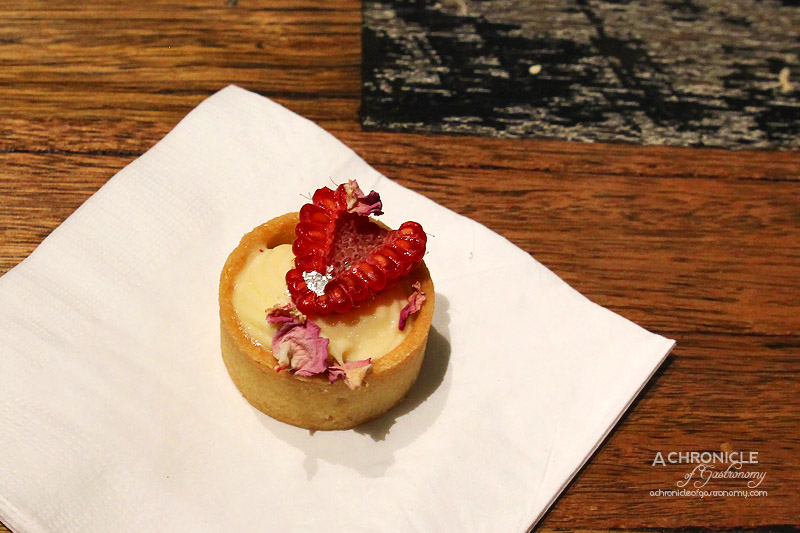 Turbine Cafe & Bar - Lychee and Raspberry Tart