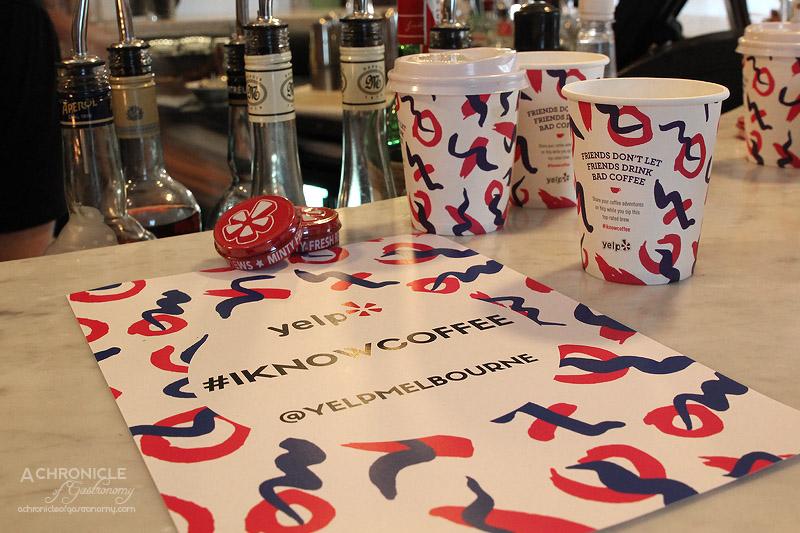 Yelp #Iknowcoffee Launch @ Belleville