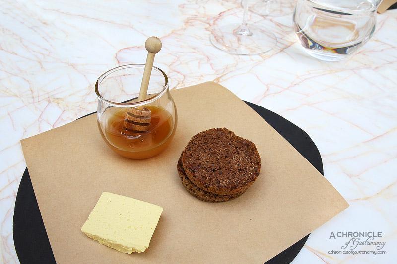 Lume - 1 - Breakfast Eel on Burnt Barley Crumpet