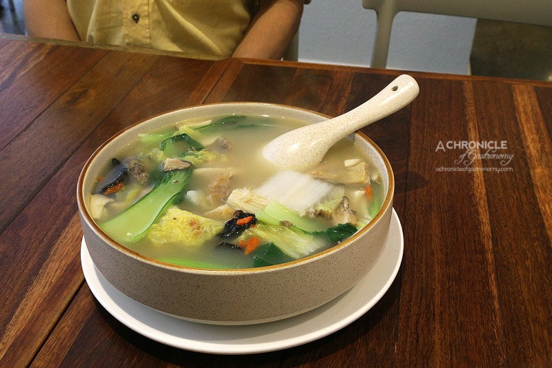China Spice - Chicken Soup with Fresh Mushroom ($28.80)