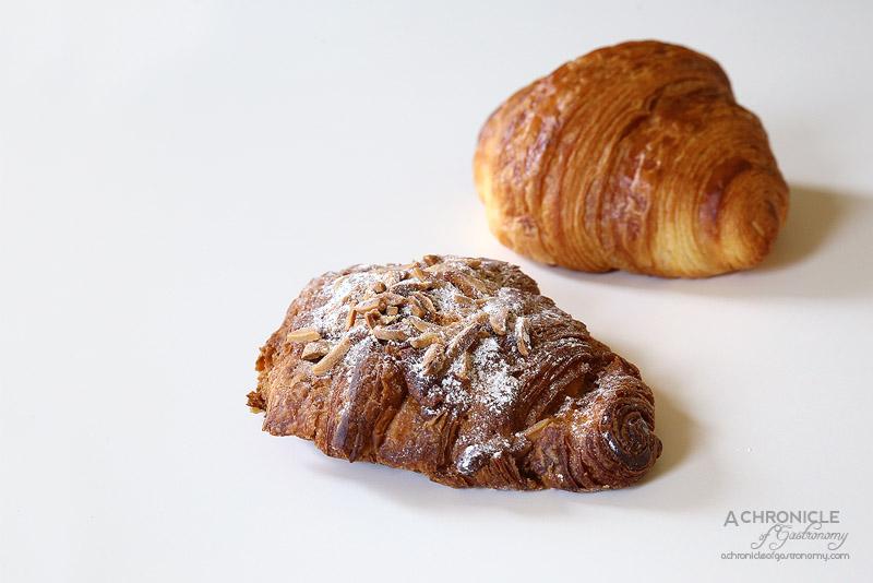 Agathe Patisserie - Lemon, Ginger, Almond Croissant ($7), Plain Croissant ($5)