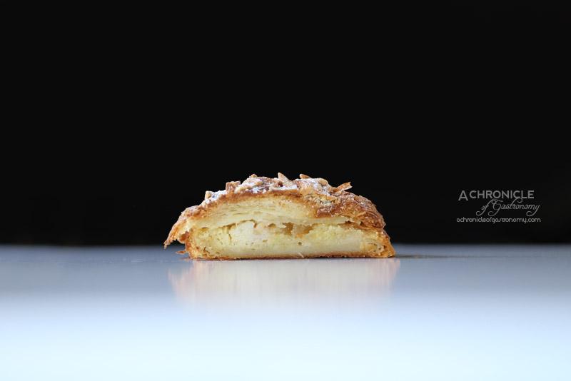 Agathe Patisserie - Lemon, Ginger, Almond Croissant ($7)
